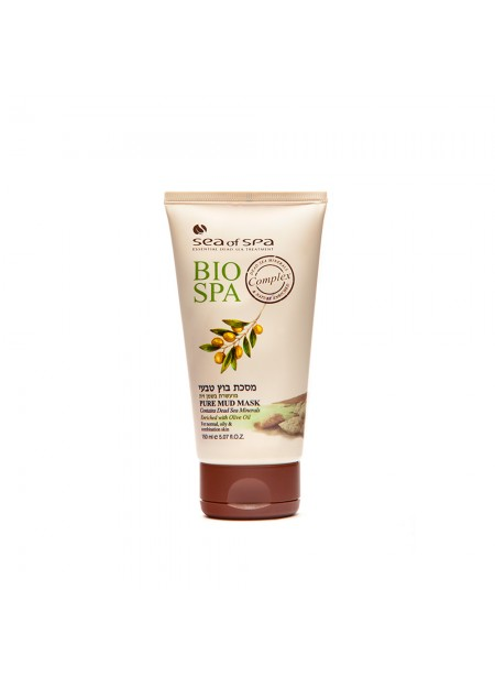 Purifying Mineral Mud Mask enriched with Olive Oil & Dunaliella