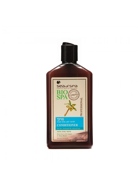 BIO-SPA Conditioner for dry, damaged and colored hair enriched with argan and shea butter
