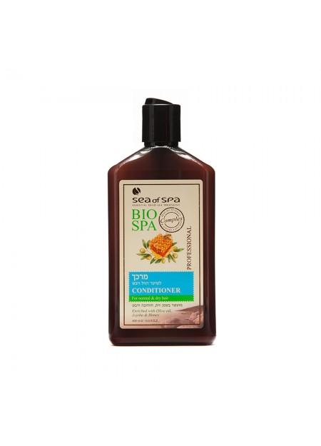 SEA OF SPA BIO -SPA Après-shampoing pour cheveux normaux et secs olive, jojoba & miel
