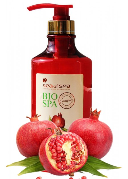 BIO-SPA Shampoo with Dead Sea Minerals and Grenade