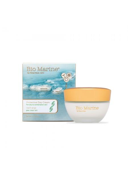 Bio Marine - Crème de jour protectrice pour les peaux grasses