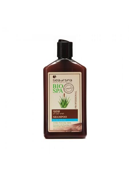 SEA OF SPA BIO-SPA Shampooing pour cheveux fin ou gras a la boue & l'Aloe Vera