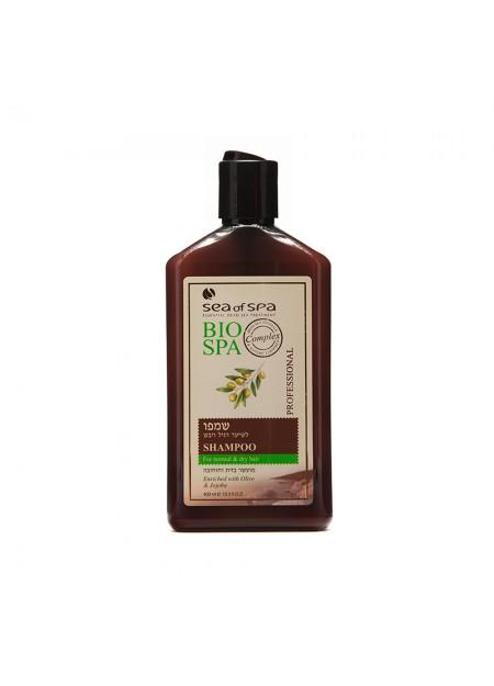 SEA OF SPA BIO-SPA Shampoing pour les cheveux normaux à secs Olive & Jojoba